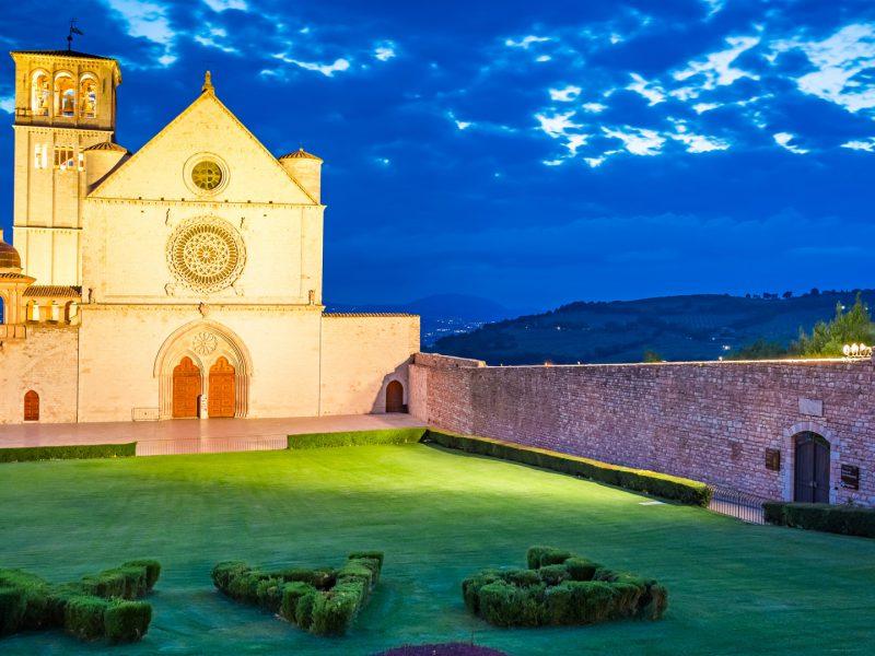 Basilica Assisi Umbria