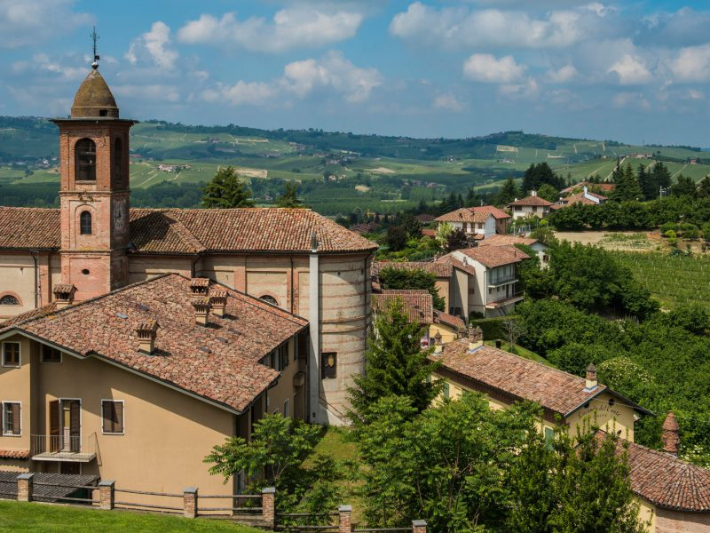 Barolo Wine District Piedmont