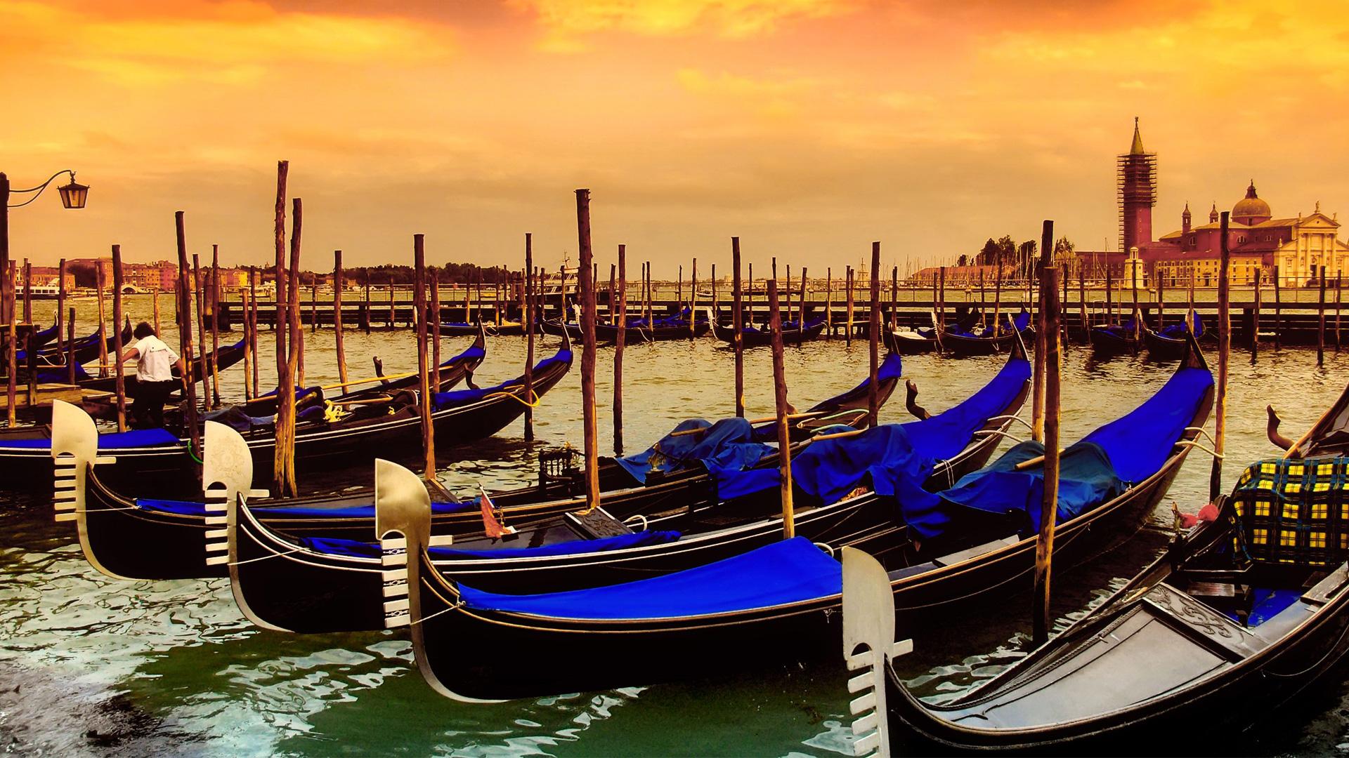 Gondola Parking Venice