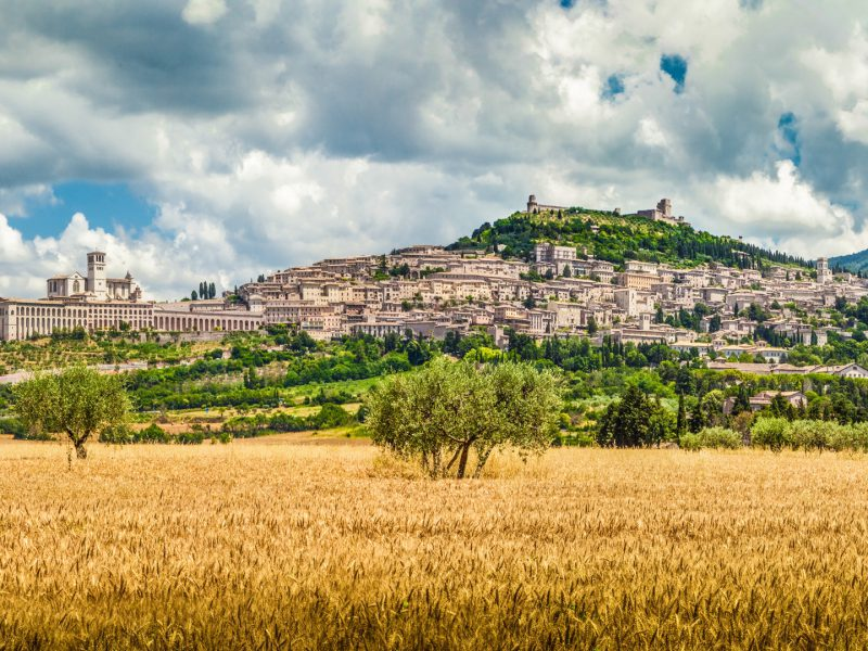 Assisi Umbria Panoramic