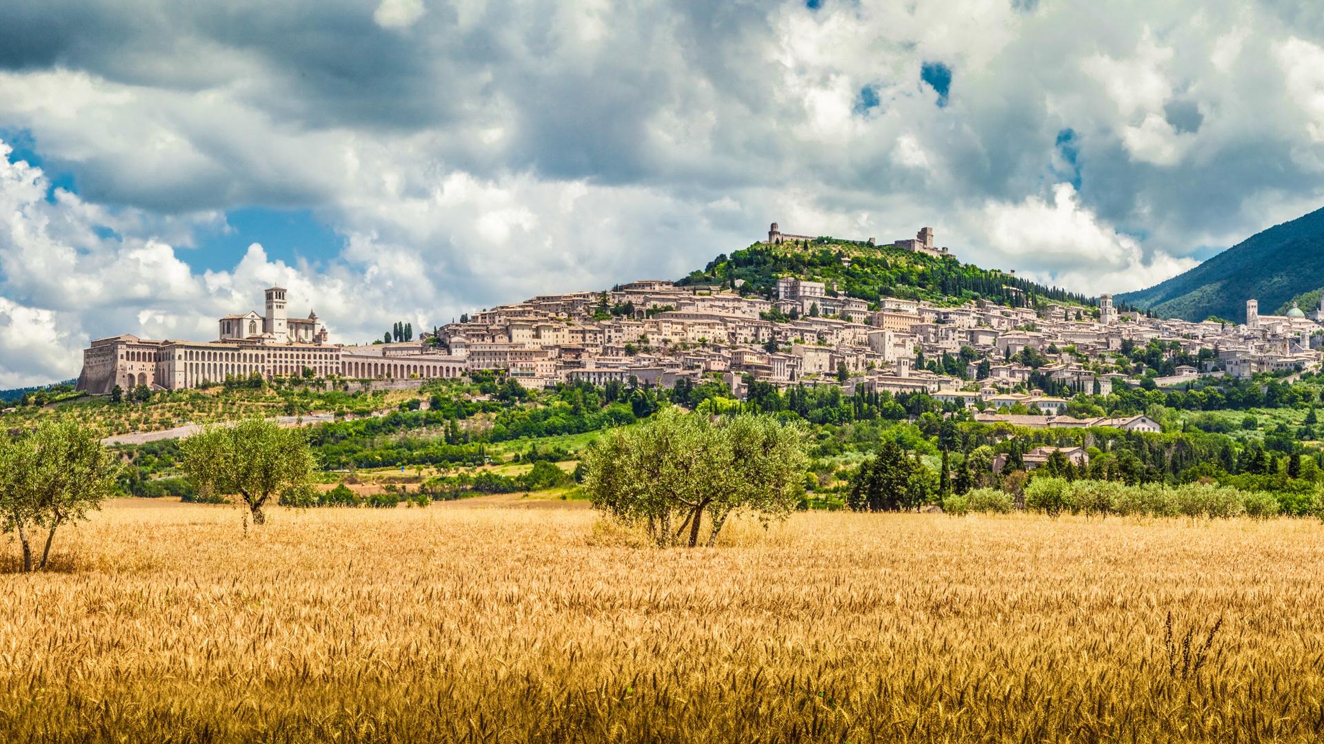 Assisi Umbria Panoramic
