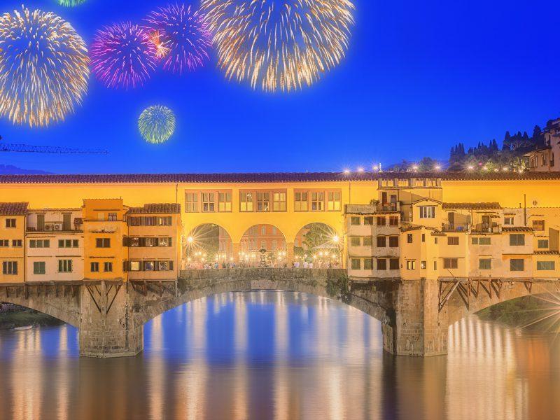 Ponte Vecchino Arno River