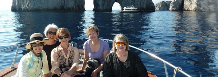 Sailing Along the Italian Coast