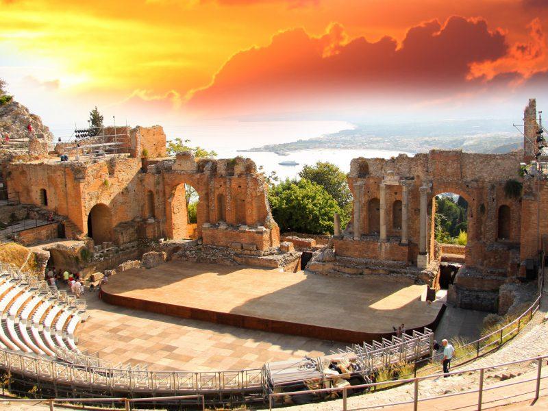 Taormina Theater Sicily