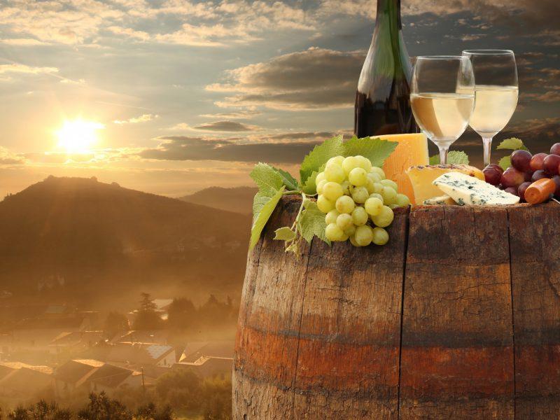 White Wine Chianti Tuscany